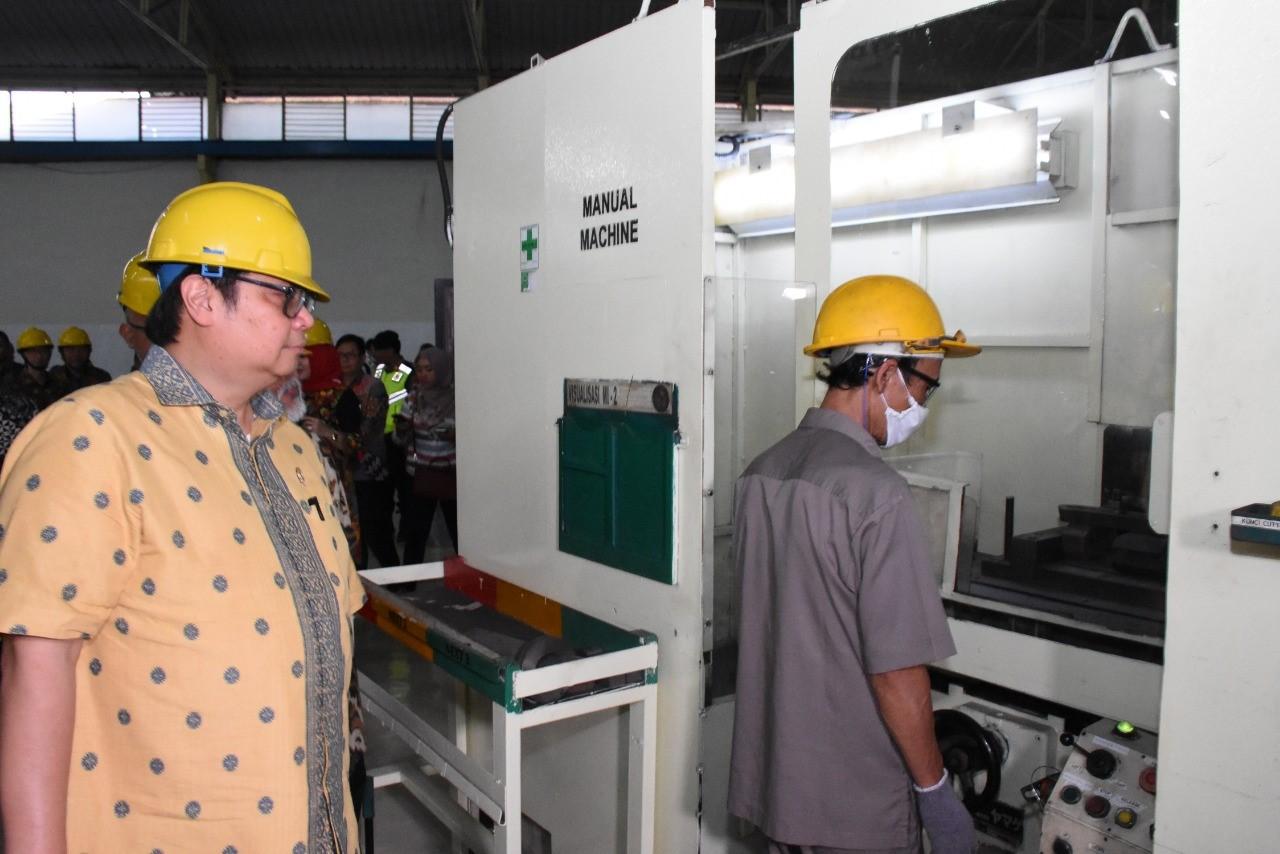 IKM Logam Berkontribusi dalam Rantai Pasok Industri Otomotif Nasional