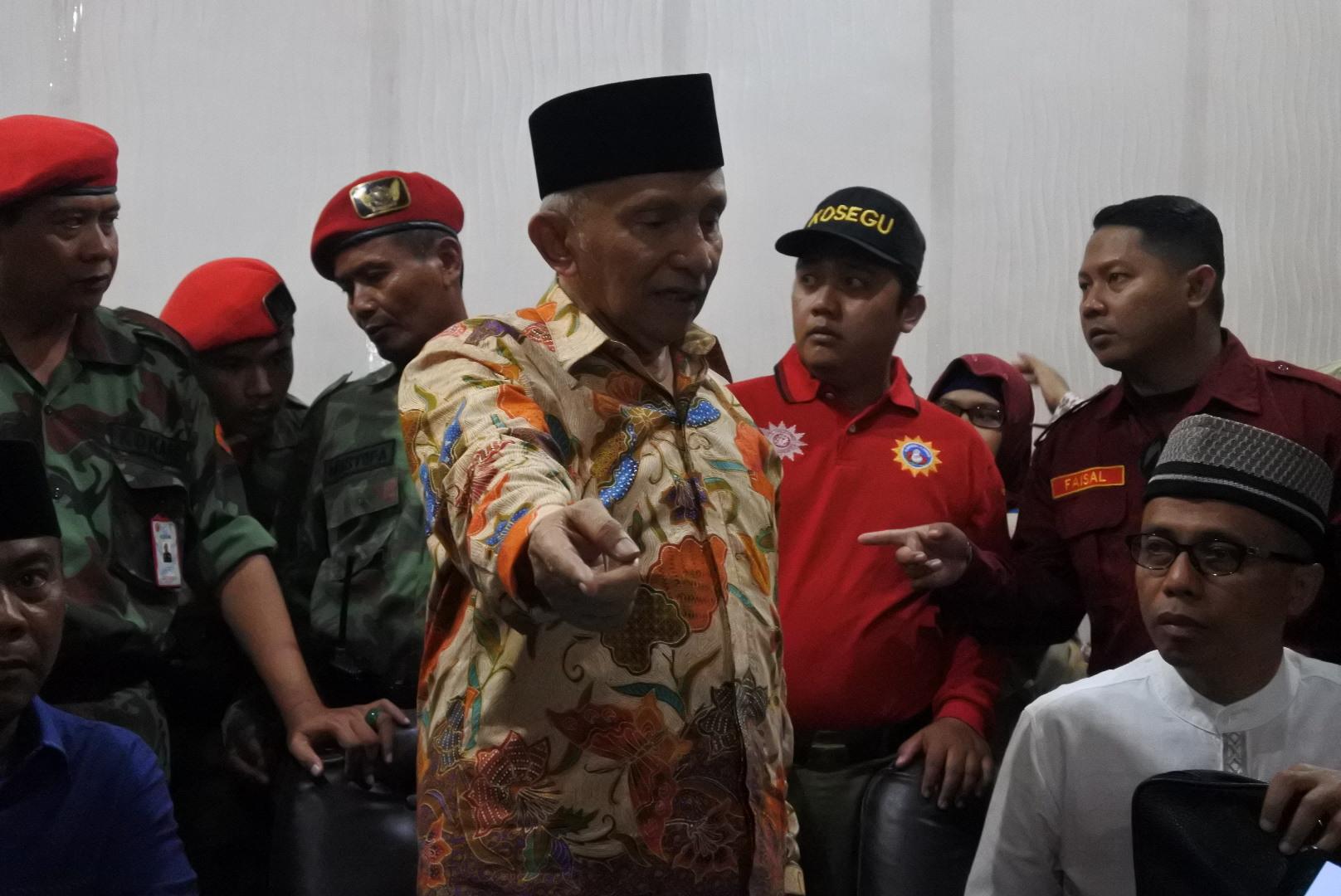 Amien Rais Sebut Muhammadiyah Sontoloyo