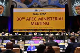 Presiden Joko Widodo Hadiri Pertemuan Dewan Bisnis APEC