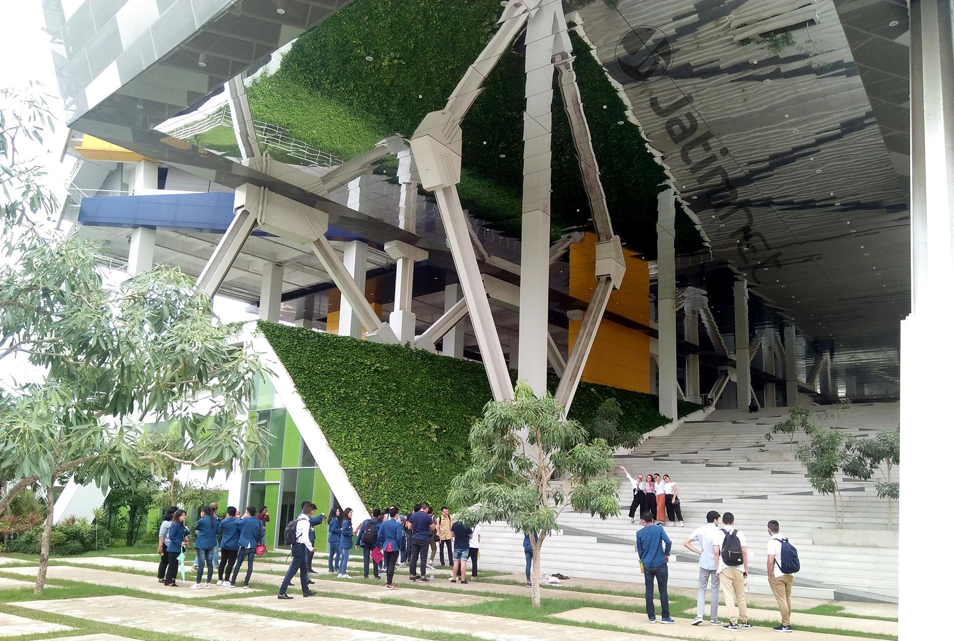 UK Petra Kenalkan <em>Green Building</em> ke Mahasiswa Australia