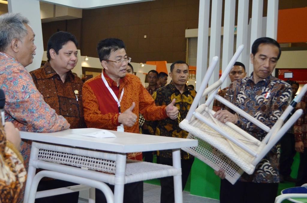 Neraca Perdagangan Industri Furnitur Surplus