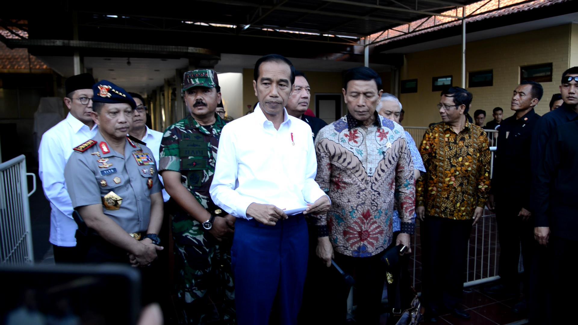 Jokowi : Teroris Ini Sungguh Biadab
