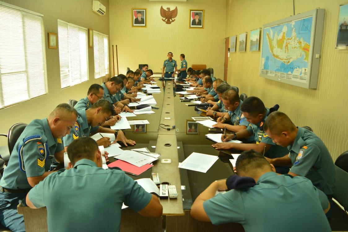 Prajurit Satlinlamil Surabaya Jalani Tes Kejiwaan