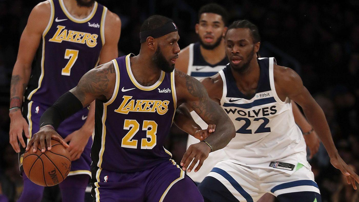 Main 23 Menit, Chandler Menangkan Lakers