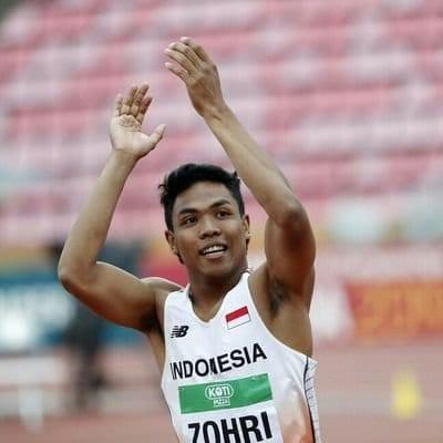 Zohri Pertajam Rekornas dan Raih Perak di Kejuaraan Asia