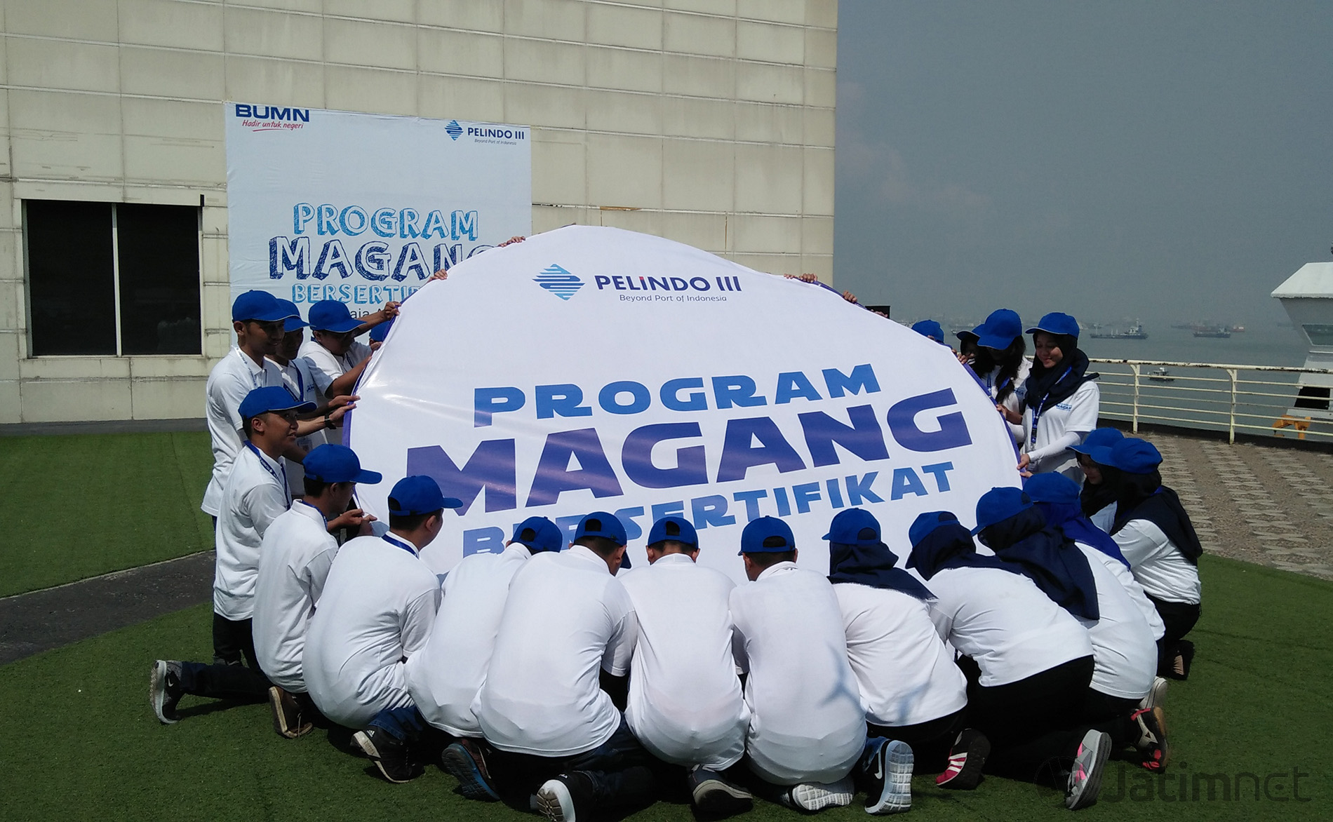 Pelindo III dan Diknas Surabaya Terbitkan Sertifikat Mahasiswa Magang