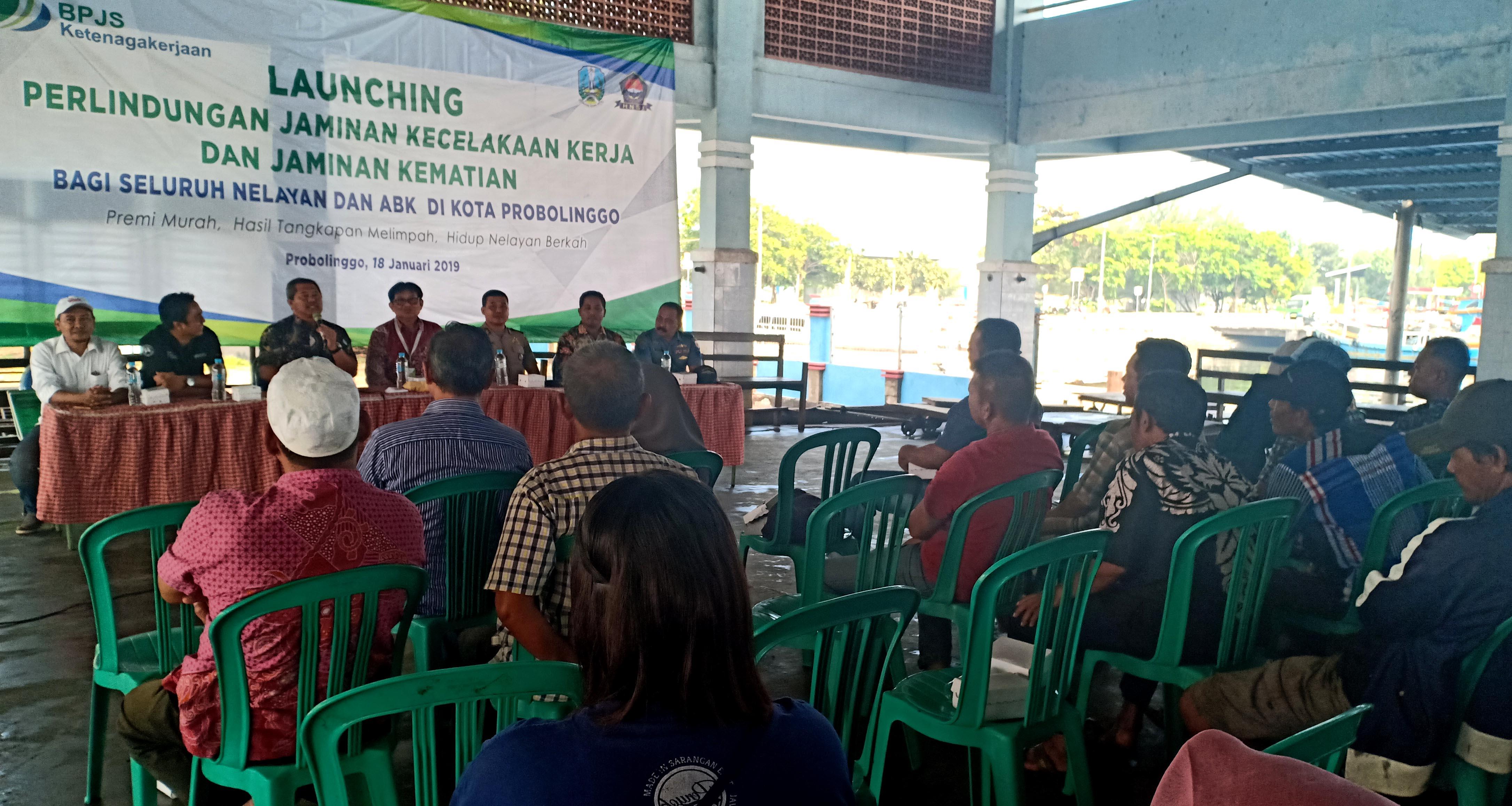 Nelayan Probolinggo Ramai-ramai Ikut BPJS Ketenagakerjaan