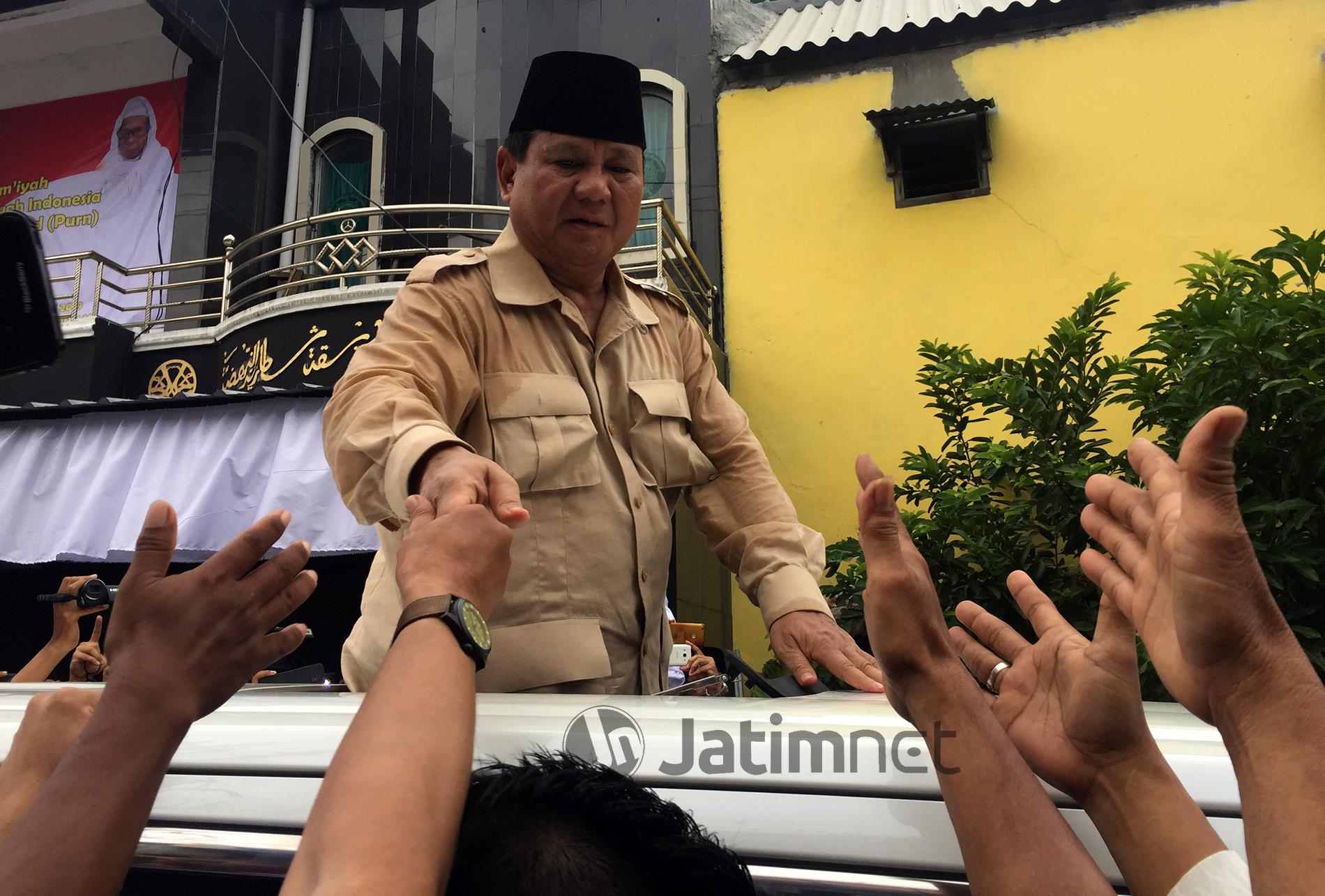 Prabowo: Saya tidak akan Salah Bicara