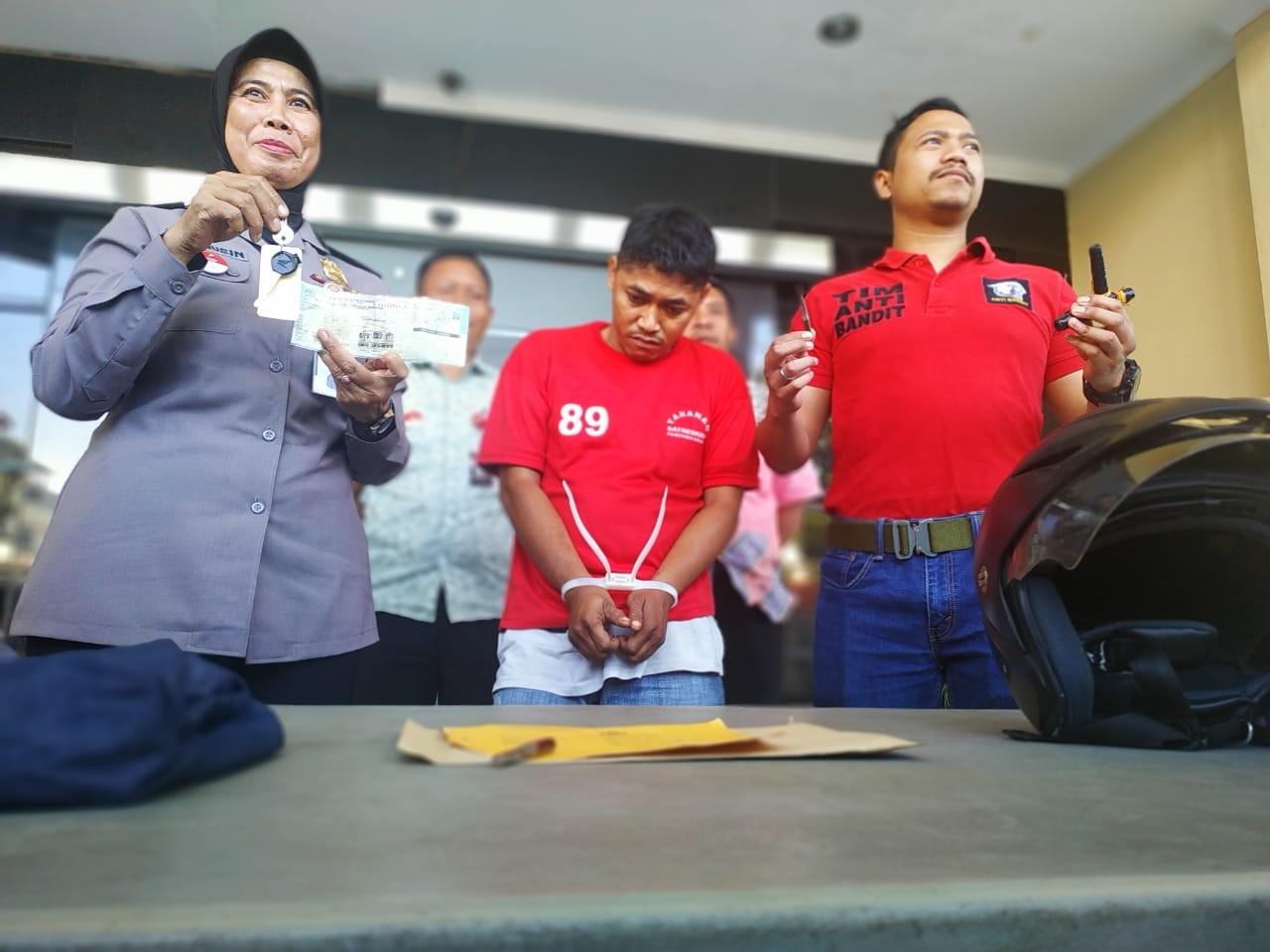 Resmob Polrestabes Surabaya Bekuk Spesialis Pencuri Motor
