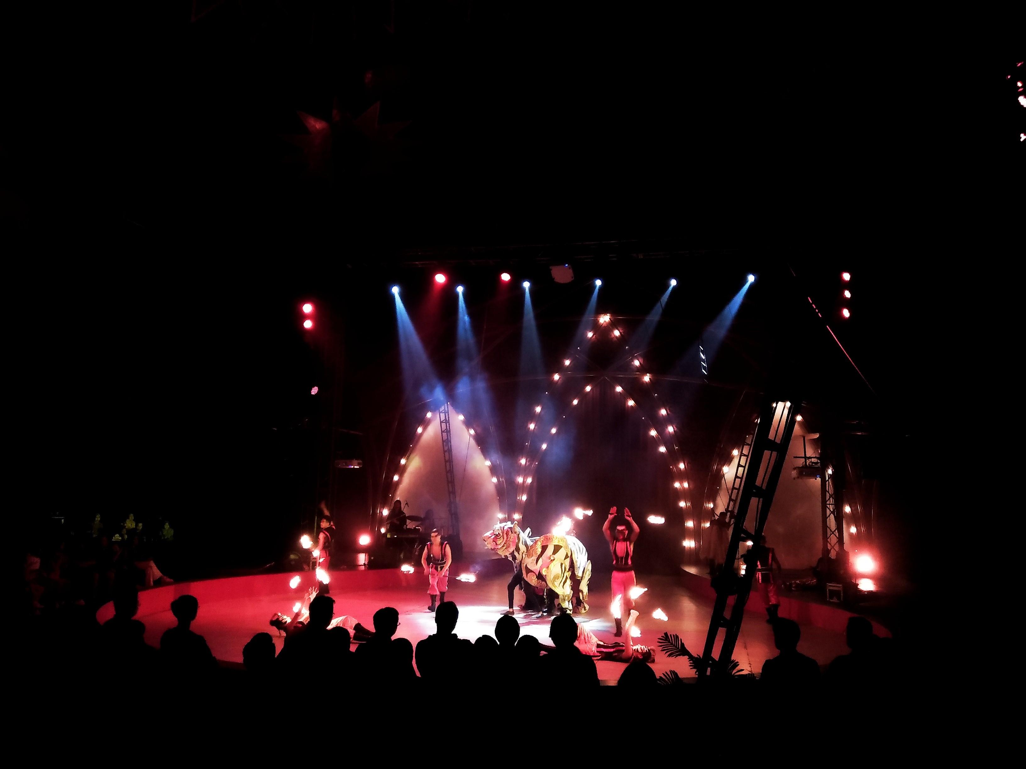Oriental Circus Indonesia Gelar Pertunjukan di Surabaya