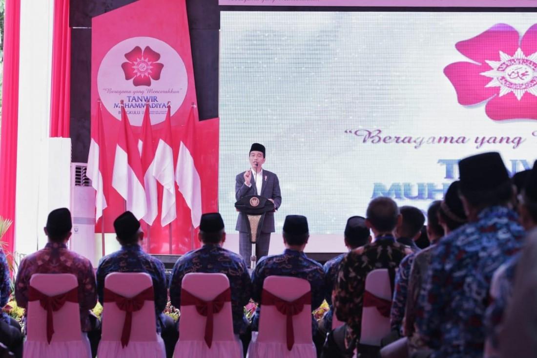Jokowi: Muhammadiyah Banyak Lahirkan Pahlawan Nasional