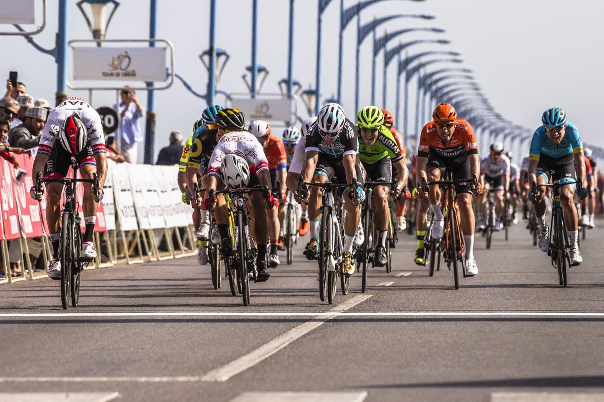 Alexander Kristoff Menangi Etape Pertama Tour of Oman