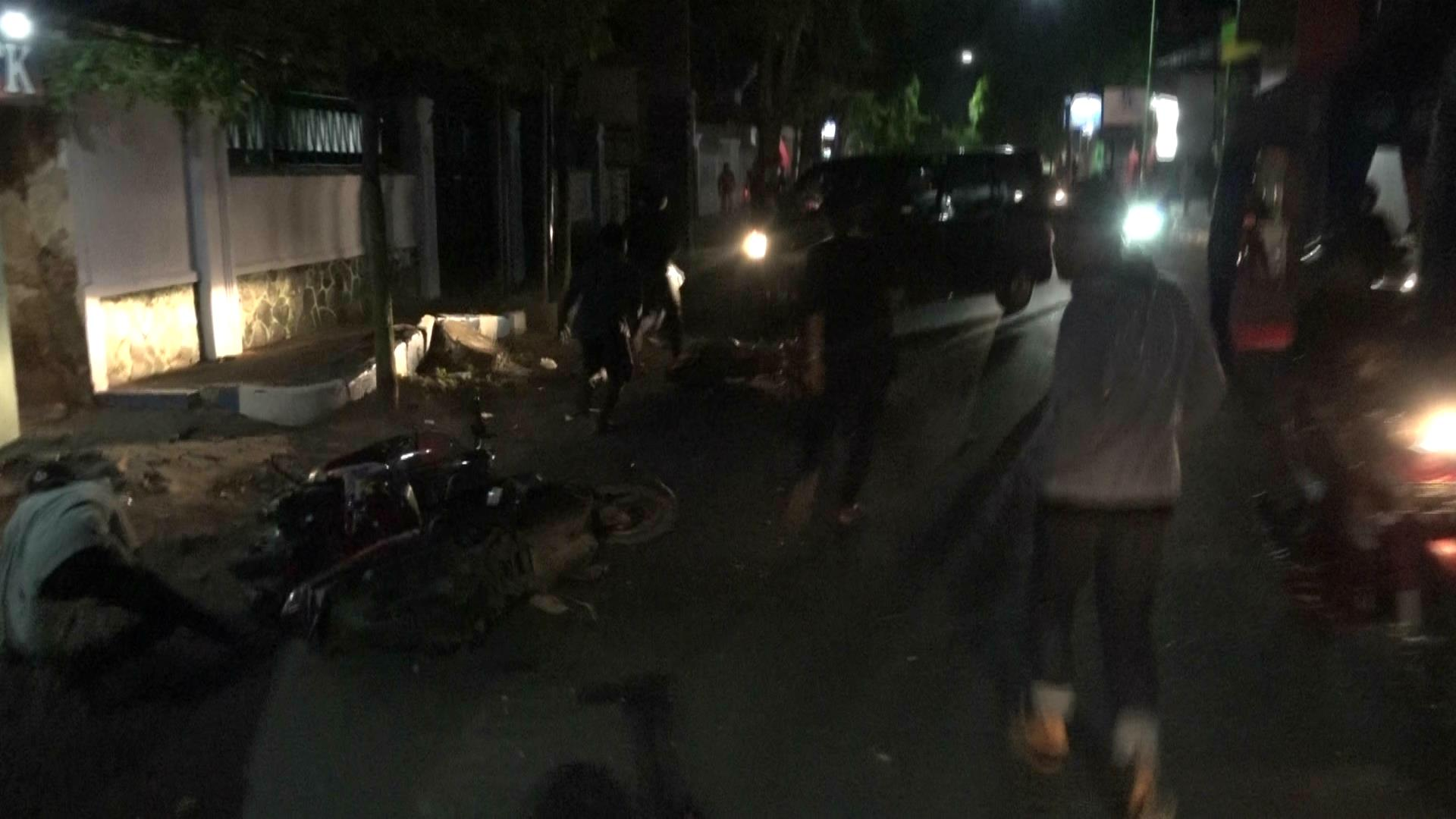 Tawuran Dua Geng Motor Warnai Probolinggo Tempo Doeloe