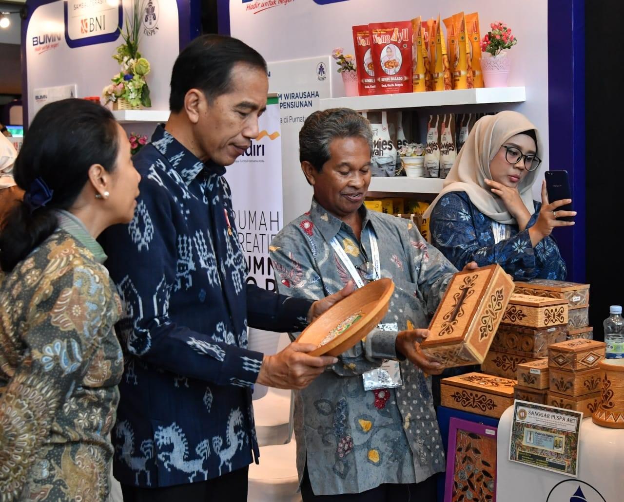 Jokowi Ingatkan Pensiunan Jeli Melihat Peluang Usaha