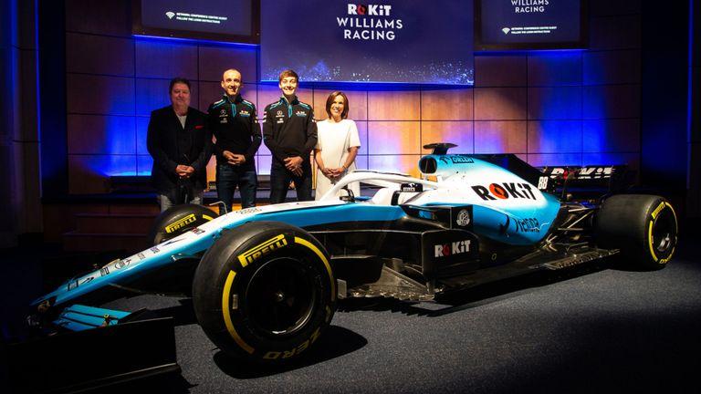 Williams Pamerkan FW42 di Inggris